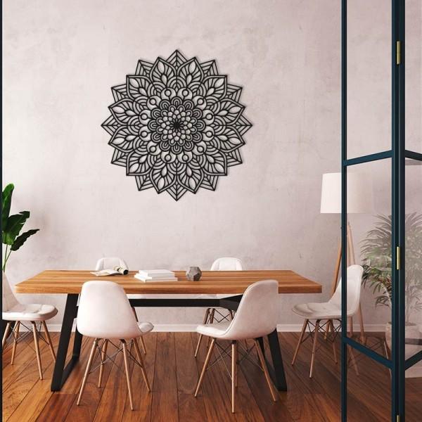 Mandala decorativa de madera INDRA