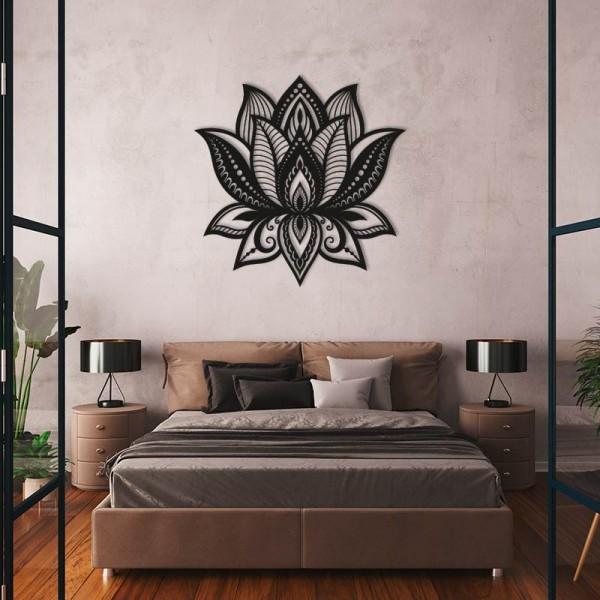Flor de Lotus de fusta