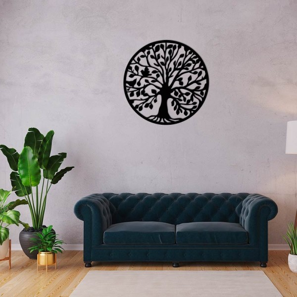 Figura arbre de la vida de fusta