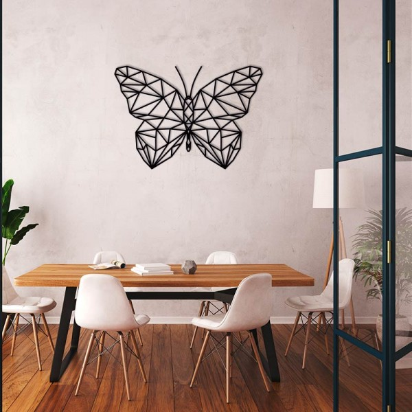Figura geométrica mariposa