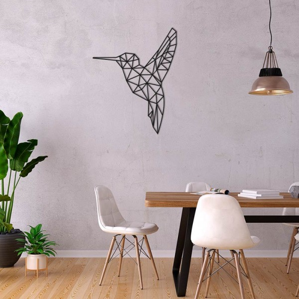 Figura geométrica colibrí