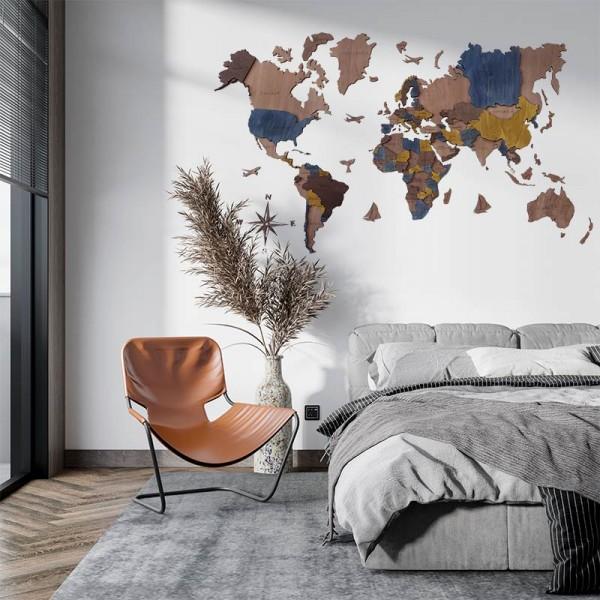 Mapa mundi 3d