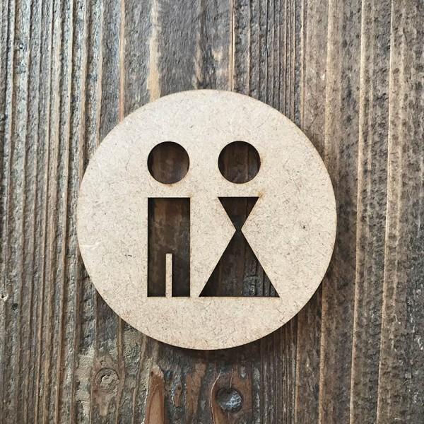 "Senyal WC ""home-dona 03"""