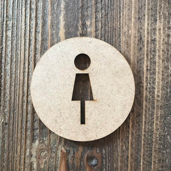 "Señal WC ""mujer 04"""