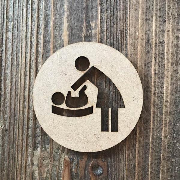Señal mujer-bebe