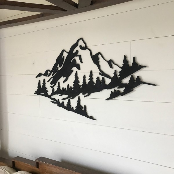 Montañas para decoración de pared