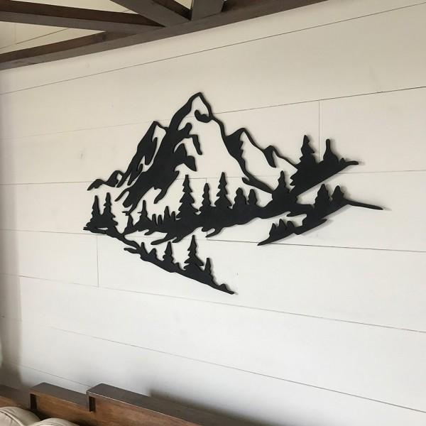 Muntanyes per decoració de paret