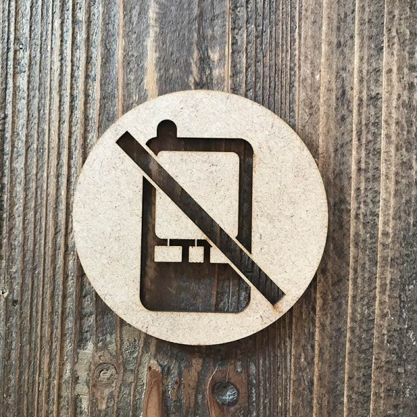Senyal prohibit mòbils