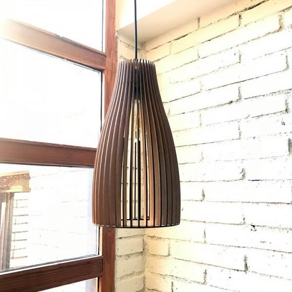 Lámpara de madera SALGUER