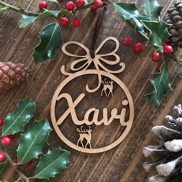 Adorn de Nadal personalitzat-...