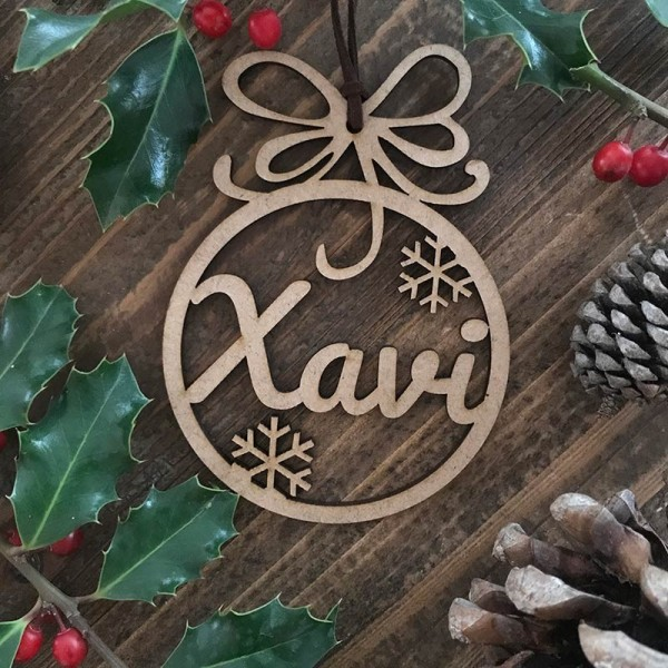 Adorn de Nadal personalitzat -...