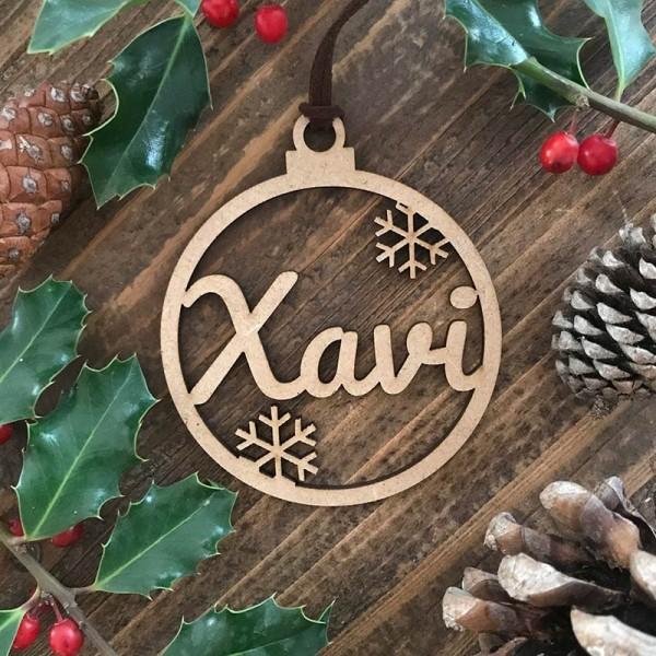 Adorn de Nadal personalitzat - bola...