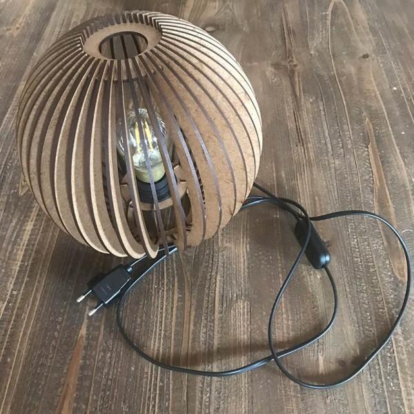 Lámpada de fusta SATUNA (mini)