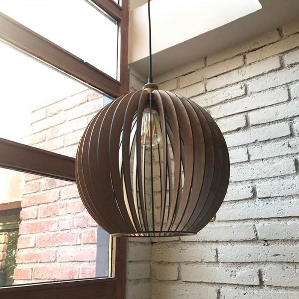 Lámpada de fusta SATUNA