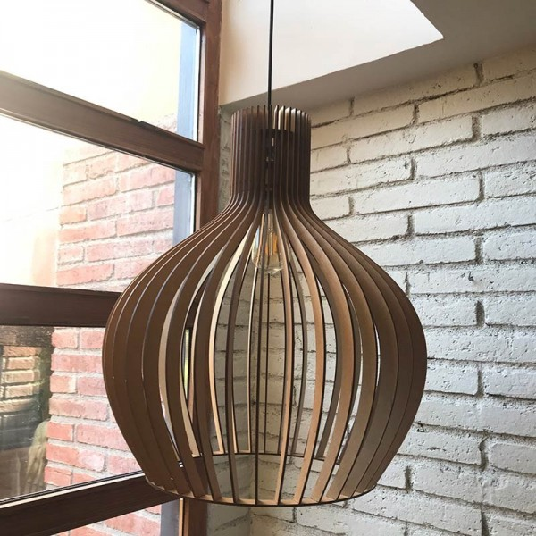 Lámpara de madera BEGUR